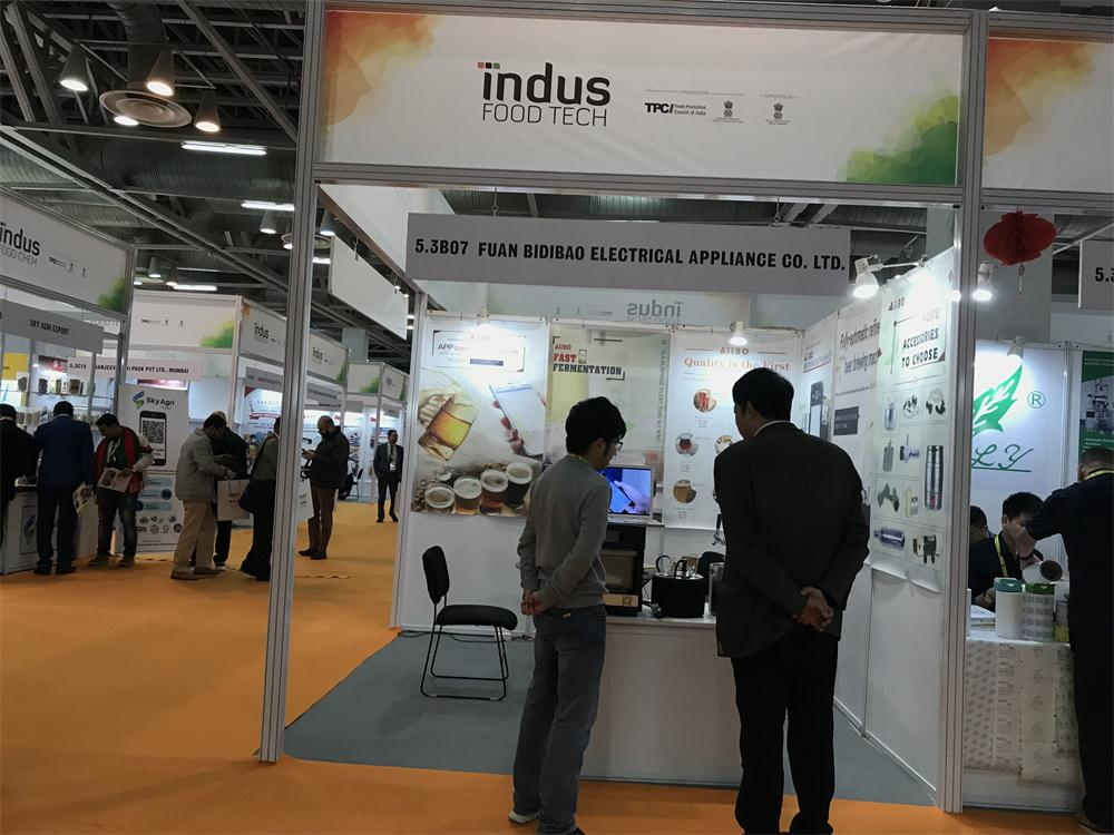 Our team attend INDUS FOOD TECH 2020 TRADE FAIR